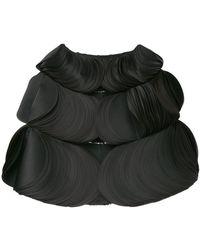 Isabel Sanchis - Capa reversible con diseño en capas - Lyst