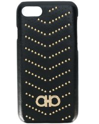 Ferragamo - Studded Iphone 7 Case - Lyst