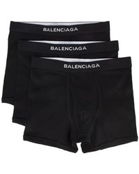 Balenciaga - Set mit drei Boxer-Shorts - Lyst