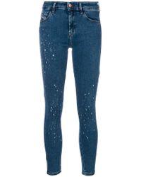 DIESEL - Slandy 0689j Jeans - Lyst