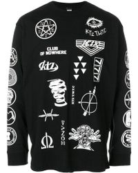 KTZ - Scout Patch Print Long Sleeve Tee - Lyst