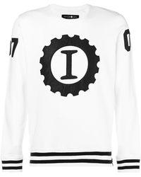 Hydrogen - I Embroidered Sweatshirt - Lyst