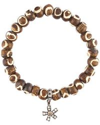 Loree Rodkin | Bead Diamond Charm Bracelet | Lyst