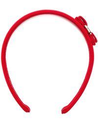 Ferragamo - Vara Grosgrain Headband - Lyst