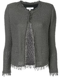 IRO - Fringed Fitted Jacket - Lyst