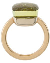 Pomellato - 18kt Rose Gold & White Gold Nudo Lemon Quartz Ring - Lyst