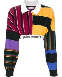 Palm Angels - Cropped Jumper - Lyst