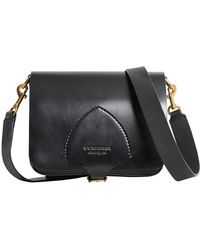 Burberry - The Square Satchel In Bridle Leather - Lyst