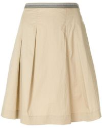 PS by Paul Smith - A-line Pleated Skirt - Lyst