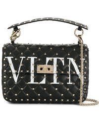 Valentino - Sac porté épaule VLTN - Lyst