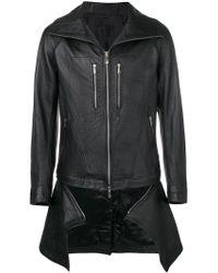 D.GNAK - Hooded Zipped Jacket - Lyst
