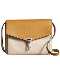 Burberry - Two-tone Leather Crossbody Bag - Lyst