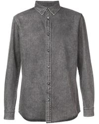 Givenchy - 4g Logo Denim Shirt - Lyst