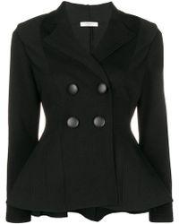 Charlott - Peplum Jacket - Lyst