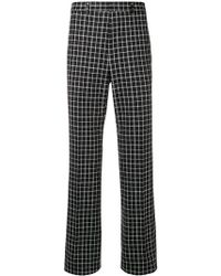 Givenchy - Check Trousers - Lyst