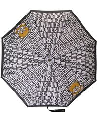 Moschino - Teddy Bear Print Umbrella - Lyst