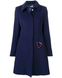 Love Moschino - Perfectly Fitted Coat - Lyst