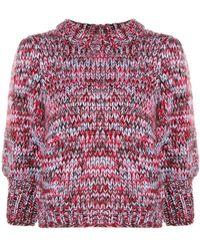 cdf50628efad5 Ganni - Melange Chunky Knit Sweater - Lyst