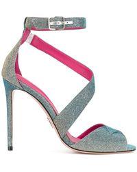 Footaction Salida Venta Precio Increíble Oscar Tiye colour-block sandals - Multicolour farfetch bianco El Envío Libre Bajo Precio De Envío De Pago Compras La Venta En Línea De Salida kJkh4Q5nx