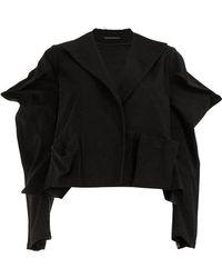 Yohji Yamamoto - Pointed Sleeves Blazer - Lyst