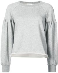 A.L.C. - Rolled Hem Sweatshirt - Lyst