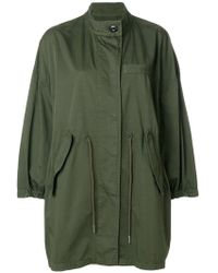 MM6 by Maison Martin Margiela - Classic Parka Coat - Lyst