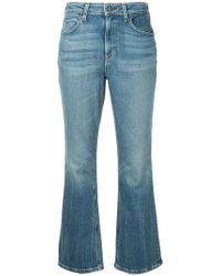 Alexander Wang - Faded Bootcut Jeans - Lyst