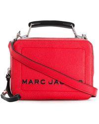 ebb3b3c796d37 Marc Jacobs - Mini Schultertasche im Box-Design - Lyst