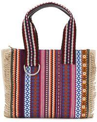 Etro - Striped Shoulder Bag - Lyst