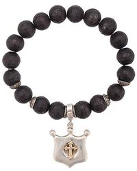 Loree Rodkin - Cross Shield Bracelet - Lyst