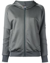 Jo No Fui - Sequined Detail Zipped Hoodie - Lyst