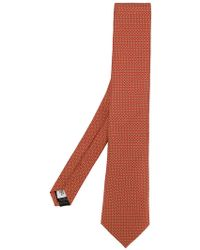 Gieves & Hawkes - Spotted Silk Tie - Lyst