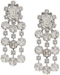 Ca&Lou - Crystal Embellished Earring - Lyst