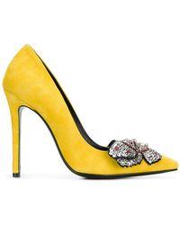 Ermanno Scervino - Crystal Embellished Pumps - Lyst