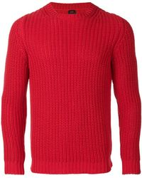 Mp Massimo Piombo | Ribbed-knit Sweater | Lyst