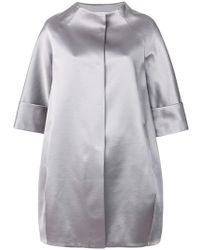 Gianluca Capannolo - Cropped Sleeved Coat - Lyst