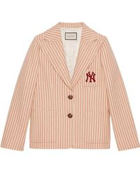 Gucci - Jacke mit NY YankeesTM-Patch - Lyst