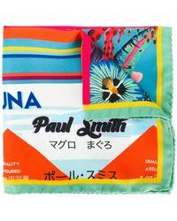 Paul Smith - Tuna Print Scarf - Lyst