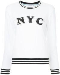 Guild Prime - Sequin Detail Sweatshirt - Lyst