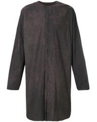 Uma Wang - Oversized Long Shirt - Lyst