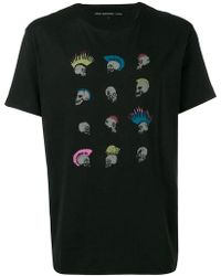 John Varvatos - Punk Skull Print T-shirt - Lyst