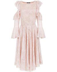 Cecilia Prado - Manela Flared Knit Dress - Lyst