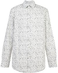 Paul Smith - Floral Print Long Sleeve Shirt - Lyst