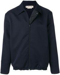 Marni - Drawstring Hem Shirt Jacket - Lyst