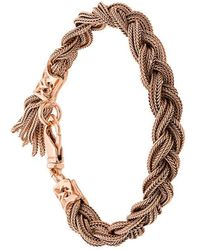 Emanuele Bicocchi - Braided Style Bracelet - Lyst