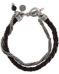 Eleventy - Double Stranded Bracelet - Lyst