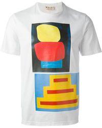 Marni - Printed T-shirt - Lyst