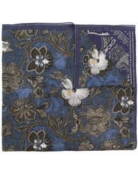Etro - Floral Paisley Print Scarf - Lyst