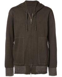 Taichi Murakami - Wide Hem Zipped Jacket - Lyst