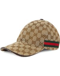 633e6ad6 Gucci - Original GG Canvas Baseball Hat With Web - Lyst